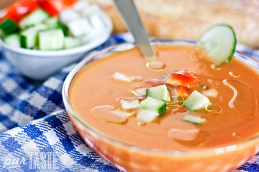 Gazpacho - Spanish Recipes by ParTASTE