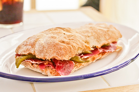 Bocadillo de Jamón y Champán: The Classic Spanish Sandwich Achieves Cult-Status