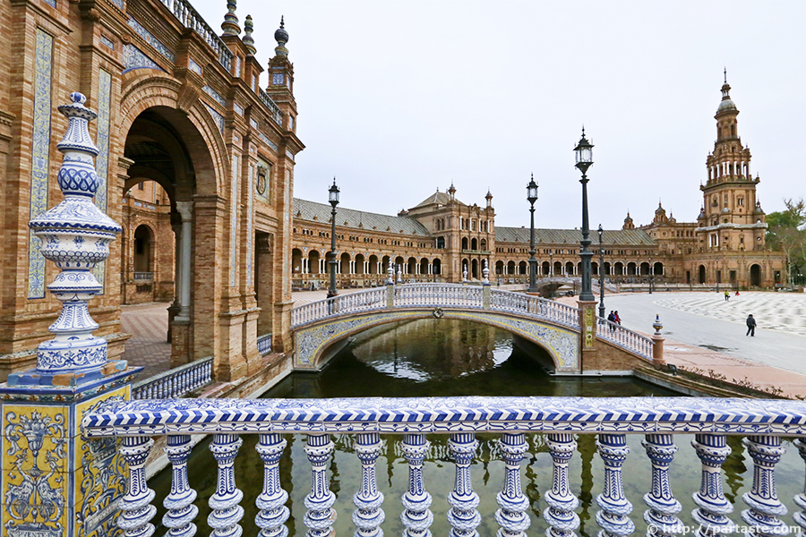 Plaza de España - Seville, Spain  ParTASTE