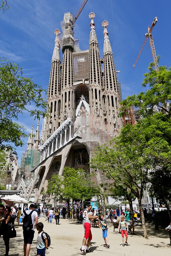 Gaudís Sagrada Família - Barcelona, Spain - ParTASTE Travels