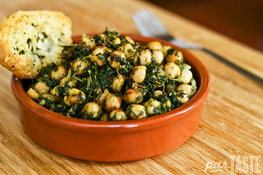 ... Con Garbanzos (Spinach With Garbanzo Beans) Recipes — Dishmaps