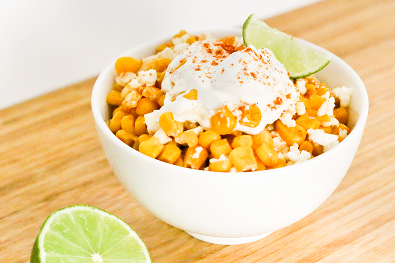 Esquites - Corn Salad from the Streets of Mexico | ParTASTE
