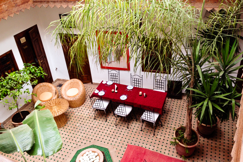 Riad_table_Limouna_Marrakech_morocco