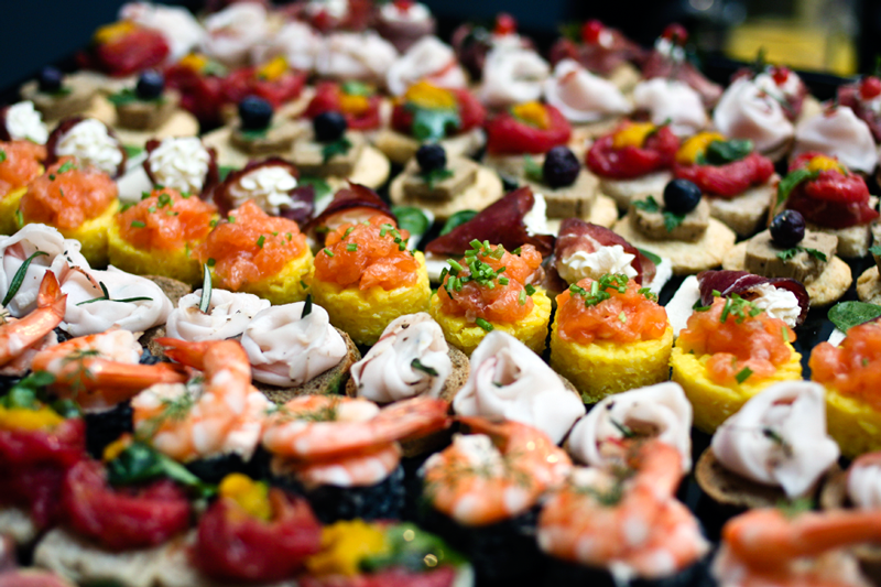 The aperitivo a guide to happy hour in italy partaste for Wedding canape ideas