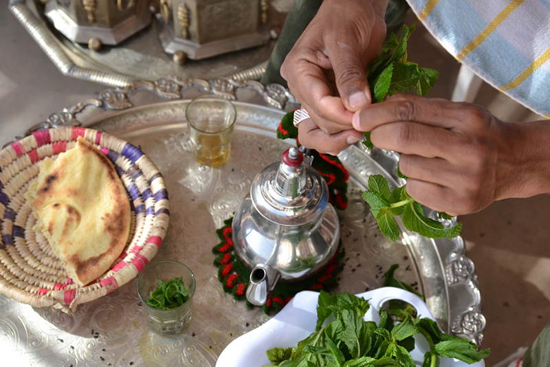 Taking Time for Tea in Morocco