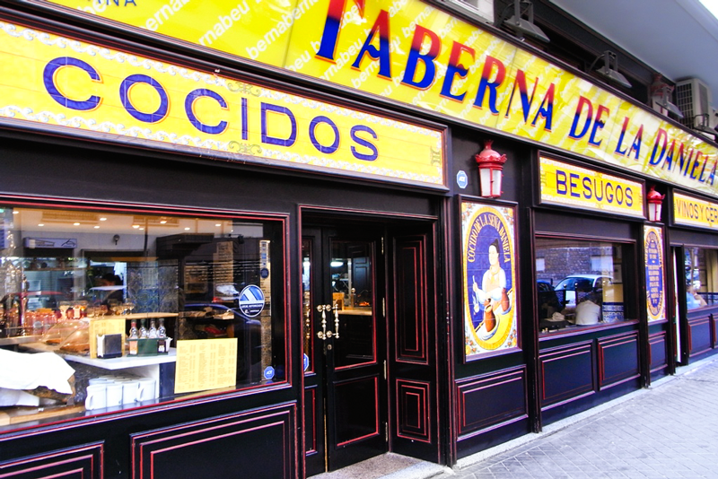 Taberna de la Daniela in Madrid, Spain - photo by Javier Lastras under CC license