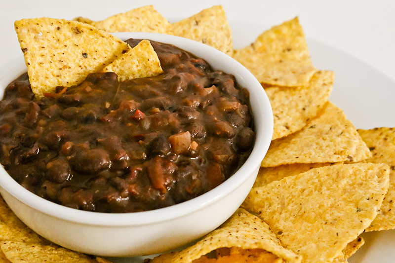Frijoles Borrachos - Mexican Beans with Beer, Bacon & Chilis