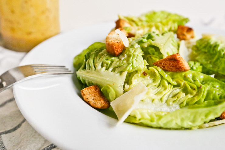 Original Tijuana Caesar Salad & Homemade Dressing Recipe