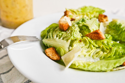 Original Tijuana Caesar Salad & Homemade Dressing Recipe